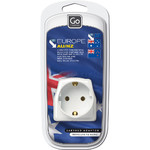 GO Travel Adaptor European Visitor Adaptor Plug GO095 - 3