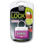 GO Travel TSA Birthday Lock Green GO355 - 2