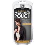 GO Travel Passport Pouch RFID Black GO671 - 4