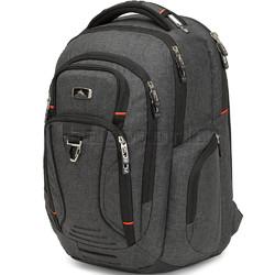 "High Sierra Endeavor Elite 17"" Laptop & Tablet Backpack Mercury Heather 03960 with a FREE High Sierra Drink Bottle"