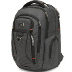 "High Sierra Endeavor Elite 17"" Laptop & Tablet Backpack Mercury Heather 03960 with a FREE High Sierra Drink Bottle"