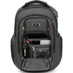 "High Sierra Endeavor Elite 17"" Laptop & Tablet Backpack Mercury Heather 03960 with a FREE High Sierra Drink Bottle - 2"