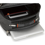 "High Sierra Endeavor Elite 17"" Laptop & Tablet Backpack Mercury Heather 03960 with a FREE High Sierra Drink Bottle - 3"