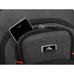 "High Sierra Endeavor Elite 17"" Laptop & Tablet Backpack Mercury Heather 03960 with a FREE High Sierra Drink Bottle - 4"