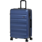 Qantas Melbourne Large 77cm Hardside Suitcase Blue 97078