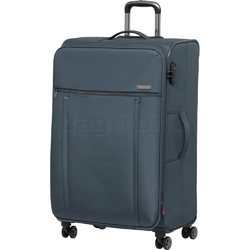 Qantas Charleville Large 81cm Softside Suitcase Blue 82081