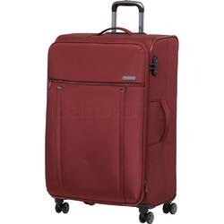 Qantas Charleville Large 81cm Softside Suitcase Red 82081