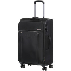 Qantas Charleville Medium 70cm Softside Suitcase Black 82071
