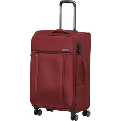 Qantas Charleville Medium 70cm Softside Suitcase Red 82071