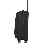 Qantas Charleville Medium 70cm Softside Suitcase Black 82071 - 2