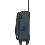 Qantas Charleville Medium 70cm Softside Suitcase Blue 82071 - 2