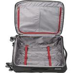 Qantas Charleville Medium 70cm Softside Suitcase Black 82071 - 3
