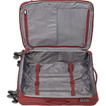 Qantas Charleville Medium 70cm Softside Suitcase Red 82071 - 3