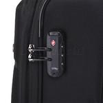 Qantas Charleville Medium 70cm Softside Suitcase Black 82071 - 4