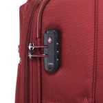 Qantas Charleville Medium 70cm Softside Suitcase Red 82071 - 4
