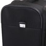Qantas Charleville Medium 70cm Softside Suitcase Black 82071 - 5