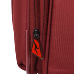 Qantas Charleville Medium 70cm Softside Suitcase Red 82071 - 6