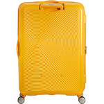 American Tourister Curio Hardside Suitcase Set of 3 Golden Yellow 87999, 86229, 86230 with FREE Samsonite Luggage Scale 34042 - 1