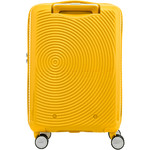 American Tourister Curio Small/Cabin 55cm Hardside Suitcase Golden Yellow 87999 - 1