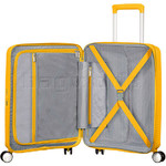 American Tourister Curio Small/Cabin 55cm Hardside Suitcase Golden Yellow 87999 - 2
