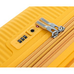 American Tourister Curio Small/Cabin 55cm Hardside Suitcase Golden Yellow 87999 - 4