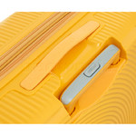 American Tourister Curio Small/Cabin 55cm Hardside Suitcase Golden Yellow 87999 - 5