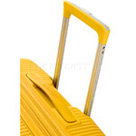 American Tourister Curio Small/Cabin 55cm Hardside Suitcase Golden Yellow 87999 - 6