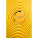 American Tourister Curio Small/Cabin 55cm Hardside Suitcase Golden Yellow 87999 - 8