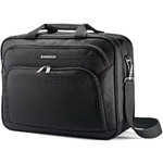 "Samsonite Xenon 3.0 15.6"" Laptop & Tablet Two Gusset Briefcase Black 89433"