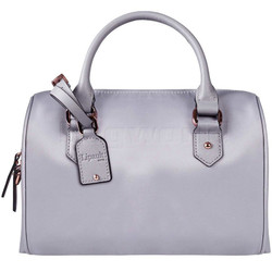 Lipault Plume Avenue Small Bowling Bag Mineral Grey 90847