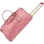 Lipault Plume Avenue Small/Cabin Wheel Duffle Bag Azalea Pink 90850