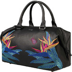 Lipault Special Edition Leather Bowling Bag Psychotropical 05935