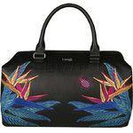 Lipault Special Edition Leather Bowling Bag Psychotropical 05935 - 2