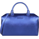 Lipault Miss Plume Medium Bowling Bag Exotic Blue 86107