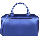 Lipault Miss Plume Medium Bowling Bag Exotic Blue 86107 - 1