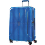 American Tourister Technum Medium 68cm Hardside Suitcase Blue Blurred 89303