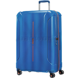 American Tourister Technum Large 77cm Hardside Suitcase Blue Blurred 89304