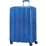 American Tourister Technum Large 77cm Expandable Hardside Suitcase Blue Blurred 89304