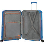 American Tourister Technum Large 77cm Hardside Suitcase Blue Blurred 89304 - 3