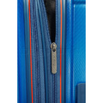 American Tourister Technum Large 77cm Hardside Suitcase Blue Blurred 89304 - 6