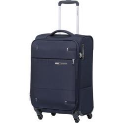 Samsonite Base Boost 2 Small/Cabin 55cm Softside Suitcase Navy 09255