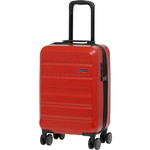 Qantas Melbourne Small/Cabin 55cm Hardside Suitcase Red 97056