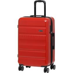 Qantas Melbourne Medium 67cm Hardside Suitcase Red 97068