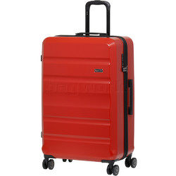 Qantas Melbourne Large 77cm Hardside Suitcase Red 97078