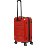 Qantas Melbourne Medium 67cm Hardside Suitcase Red 97068 - 1