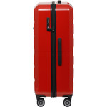 Qantas Melbourne Large 77cm Hardside Suitcase Red 97078 - 2