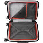 Qantas Melbourne Medium 67cm Hardside Suitcase Red 97068 - 3