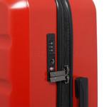 Qantas Melbourne Medium 67cm Hardside Suitcase Red 97068 - 4