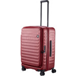 Lojel Cubo Medium 65cm Hardside Suitcase Burgundy Red JCU65