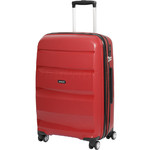 American Tourister Bon Air Deluxe Medium 66cm Expandable Hardside Suitcase Magma Red 87852